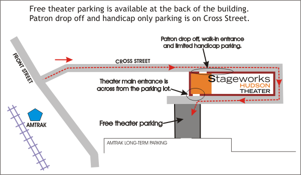 Stageworks Parking Map